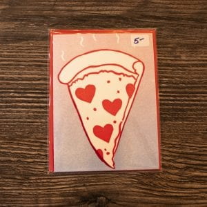 Nocturnal Press I'd Choose You Over a Box of Pizza Greeting Card